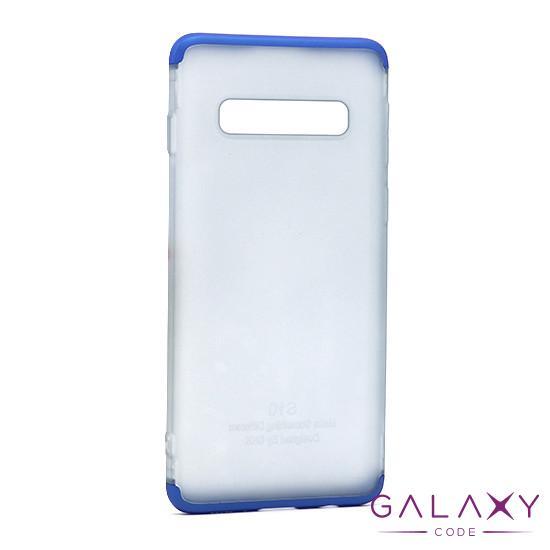 Futrola PVC 360 PROTECT NEW za Samsung G973F Galaxy S10 plava