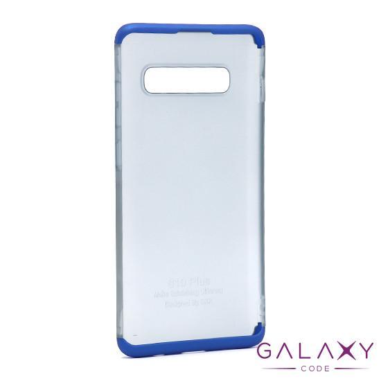 Futrola PVC 360 PROTECT NEW za Samsung G975F Galaxy S10 Plus plava