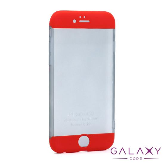 Futrola PVC 360 PROTECT NEW za Iphone 6G/6S crvena