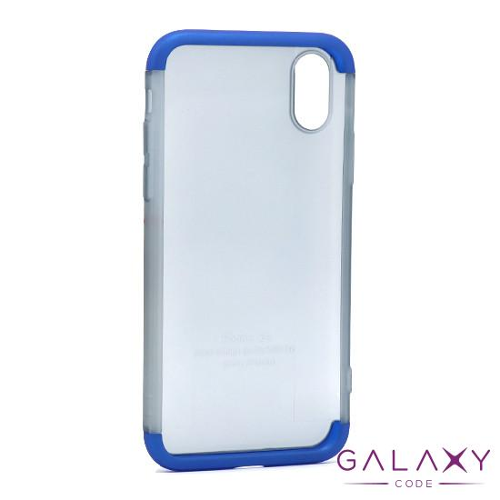 Futrola PVC 360 PROTECT NEW za Iphone X/XS plava