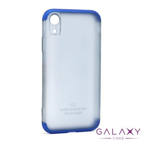 Futrola PVC 360 PROTECT NEW za Iphone XR plava