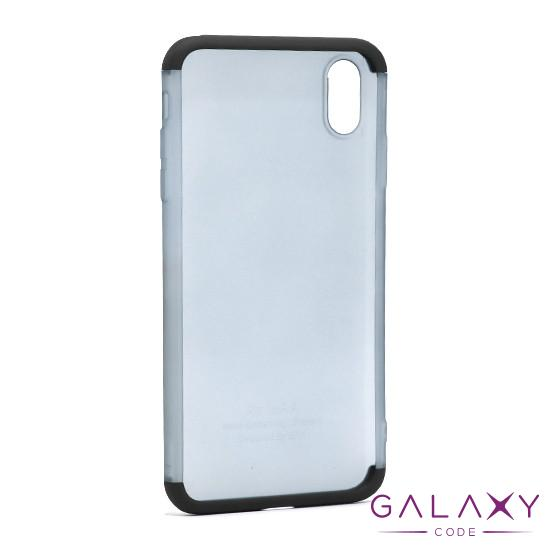 Futrola PVC 360 PROTECT NEW za Iphone XS Max crna
