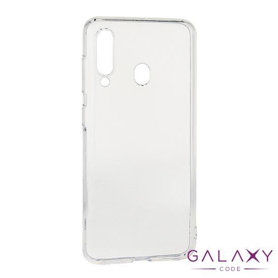 Futrola ULTRA TANKI PROTECT silikon za Samsung M405F Galaxy M40 providna (bela)