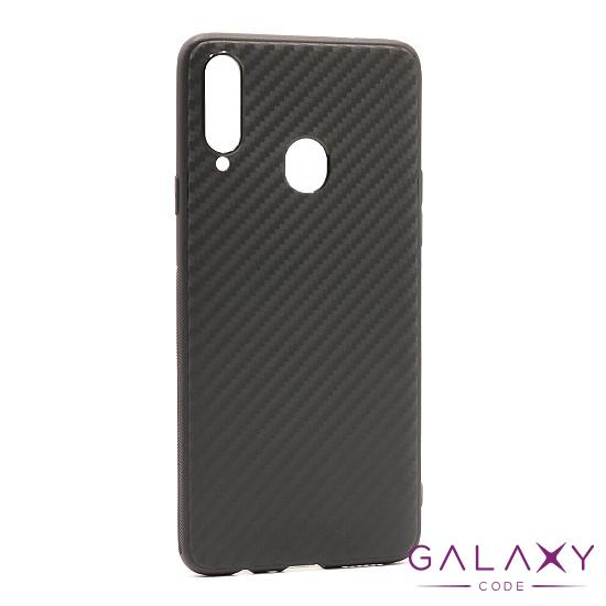Futrola silikon CARBON LIGHT za Samsung A207F Galaxy A20s crna