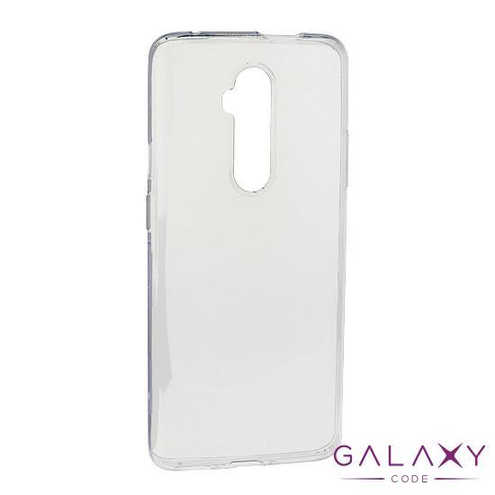 Futrola ULTRA TANKI PROTECT silikon za OnePlus 7T Pro providna (bela)