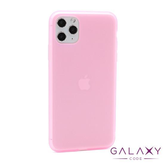 Futrola silikon RUBBER za Iphone 11 Pro Max roze