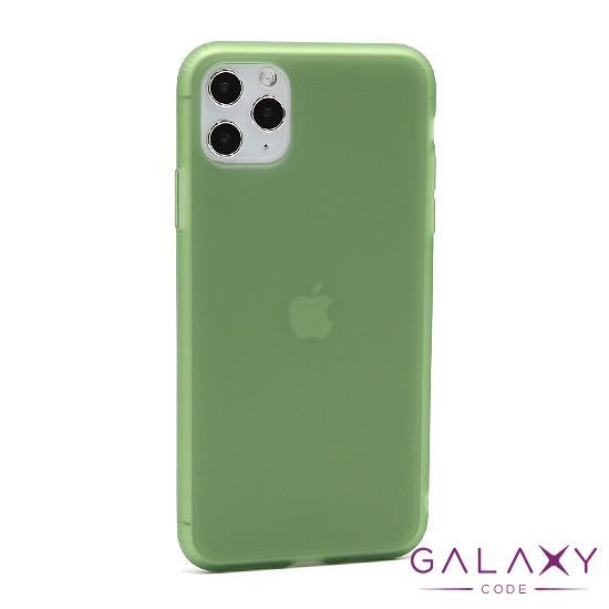 Futrola silikon RUBBER za Iphone 11 Pro Max zelena