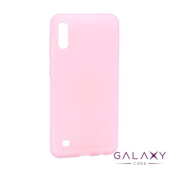 Futrola silikon RUBBER za Samsung A105F Galaxy A10 roze