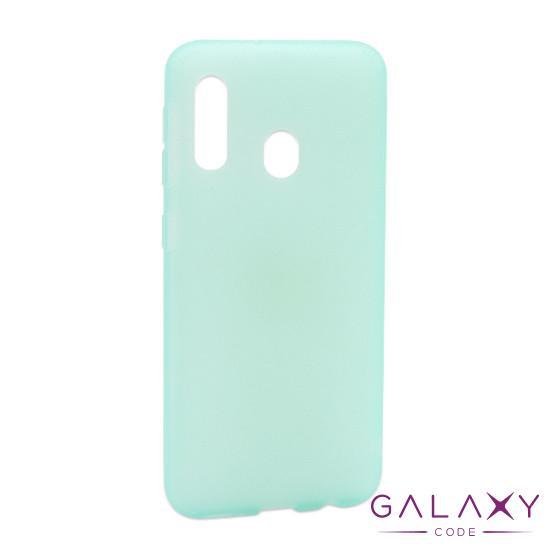 Futrola silikon RUBBER za Samsung A202F Galaxy A20e tirkizna