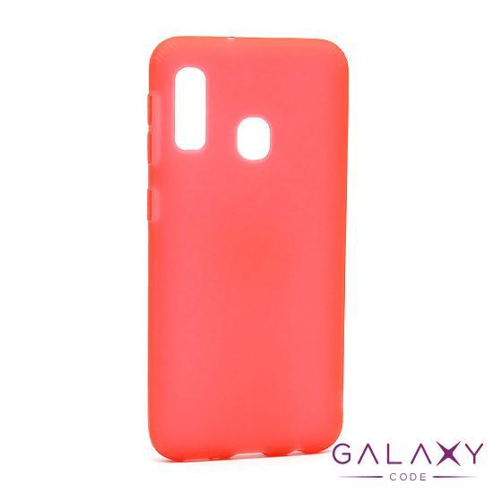 Futrola silikon RUBBER za Samsung A202F Galaxy A20e crvena