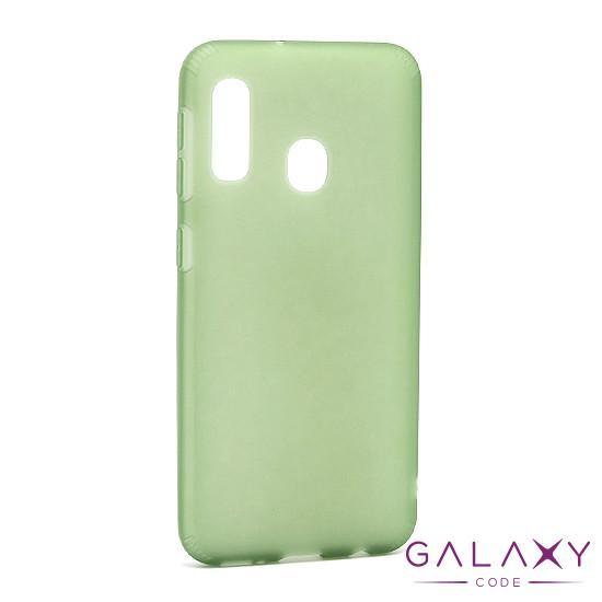 Futrola silikon RUBBER za Samsung A202F Galaxy A20e zelena