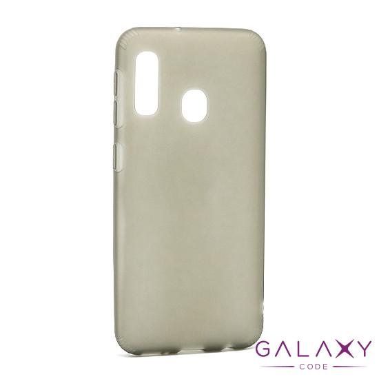 Futrola silikon RUBBER za Samsung A202F Galaxy A20e siva