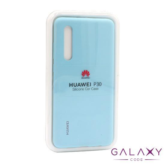 Futrola silikonska za Huawei P30 svetlo plava FULL ORG