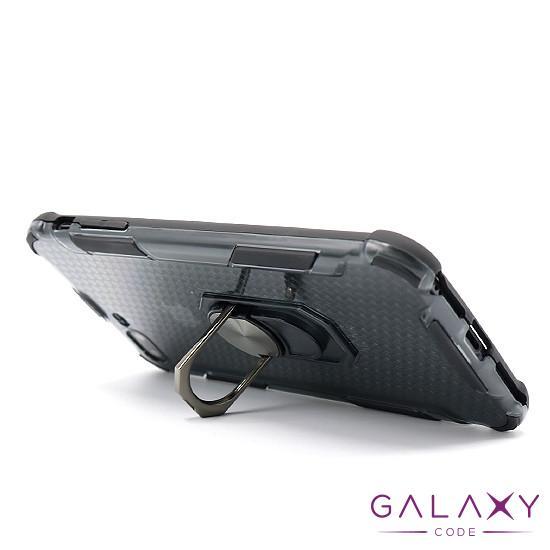 Futrola DEFENDER RING CLEAR za Iphone 7 Plus/ 8 Plus crna