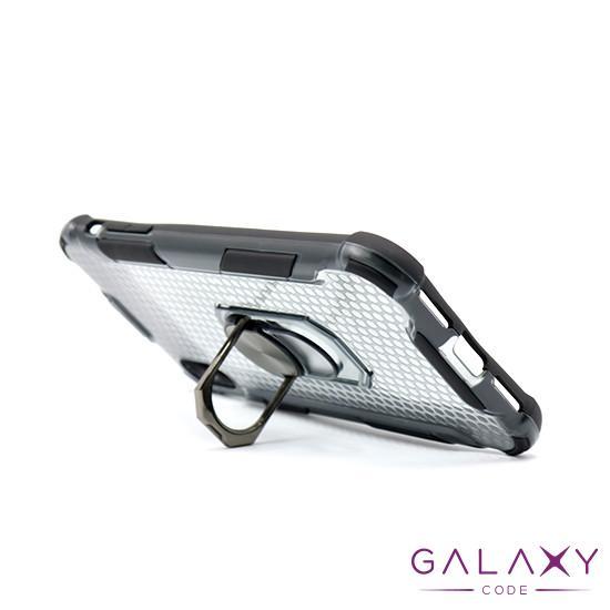 Futrola DEFENDER RING CLEAR za Iphone XR crna