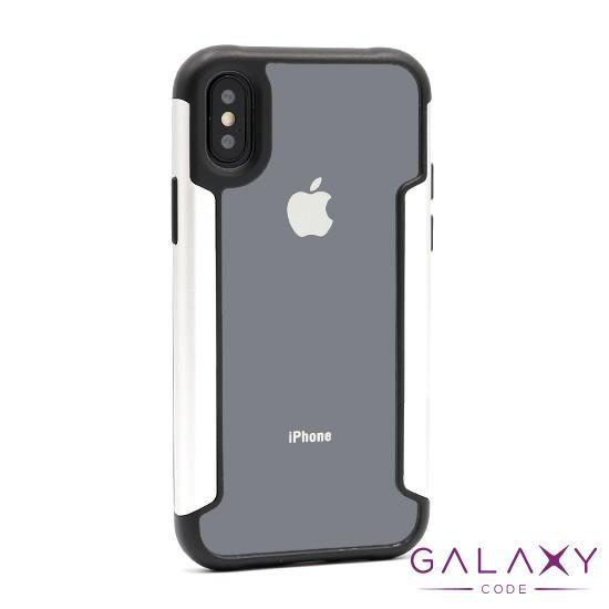 Futrola Elegant and strong za Iphone X/XS srebrna