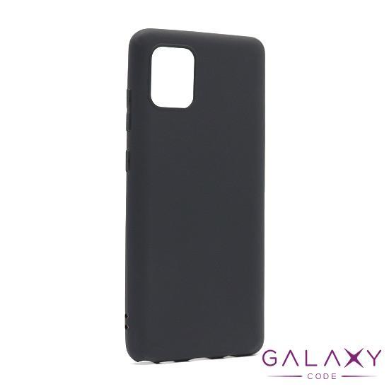 Futrola ULTRA TANKI KOLOR za Samsung A815F/N770F Galaxy A81/Note 10 Lite crna