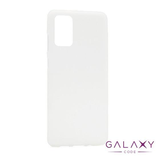 Futrola silikon DURABLE za Samsung G985F Galaxy S20 Plus bela