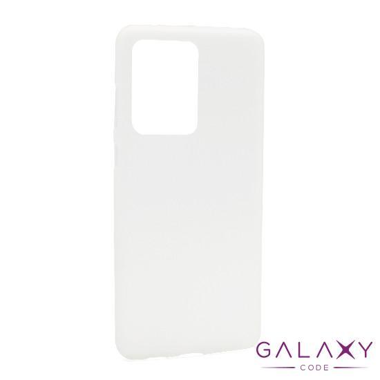 Futrola silikon DURABLE za Samsung G988F Galaxy S20 Ultra bela