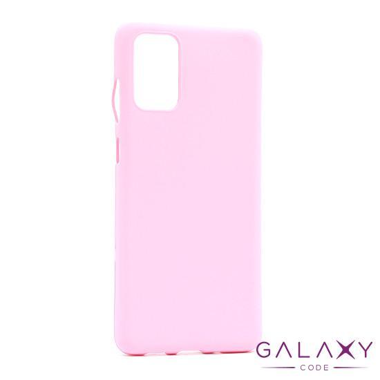 Futrola GENTLE COLOR za Samsung G985F Galaxy S20 Plus roze