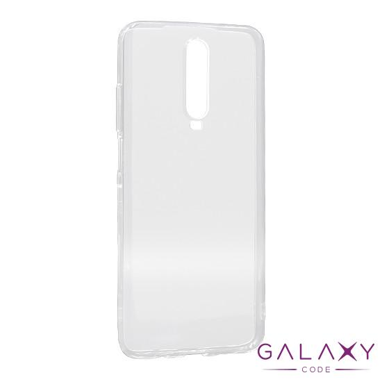 Futrola ULTRA TANKI PROTECT silikon za Xiaomi Redmi K30/Poco X2 providna (bela)