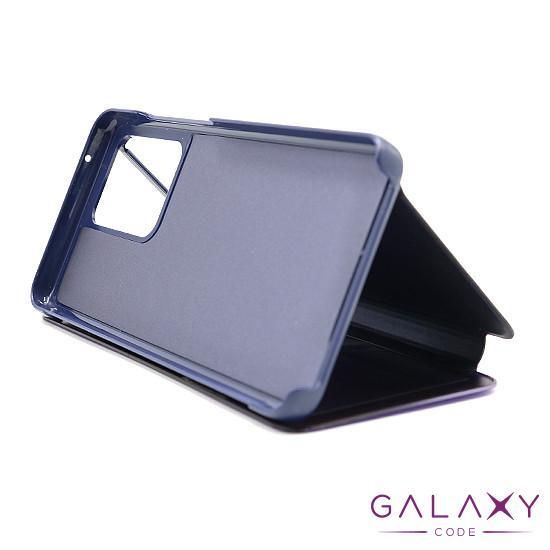 Futrola BI FOLD CLEAR VIEW za Samsung G988F Galaxy S20 Ultra ljubicasta