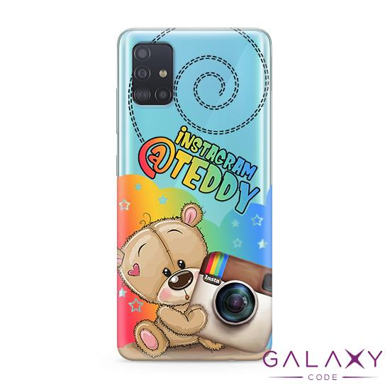 Futrola ULTRA TANKI PRINT CLEAR za Samsung A515F Galaxy A51 ND0083