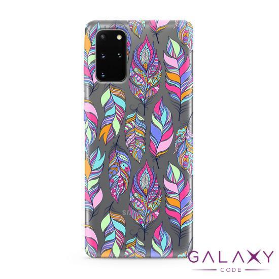Futrola ULTRA TANKI PRINT CLEAR za Samsung G985F Galaxy S20 Plus ND0099