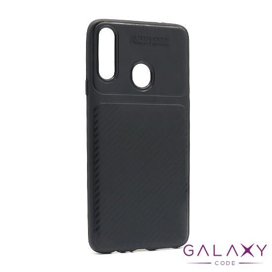 Futrola silikon ELEGANT CARBON za Samsung A207F Galaxy A20s crna