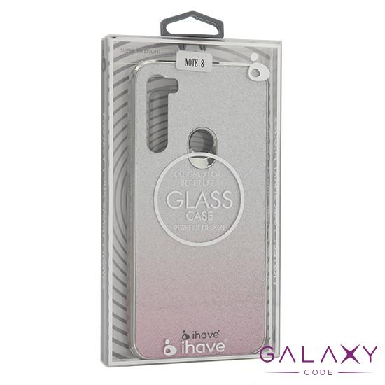 Futrola GLASS Ihave Glitter za Xiaomi Redmi Note 8 DZ02