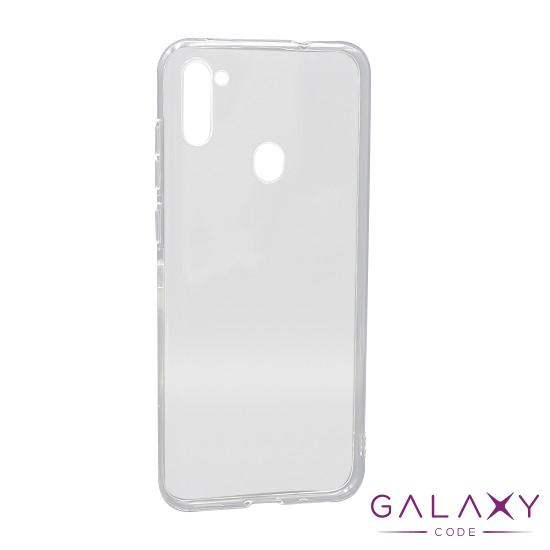 Futrola ULTRA TANKI PROTECT silikon za Samsung A115F Galaxy A11 providna (bela)