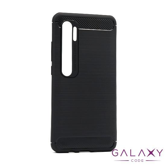 Futrola silikon BRUSHED za Xiaomi Mi Note 10 crna