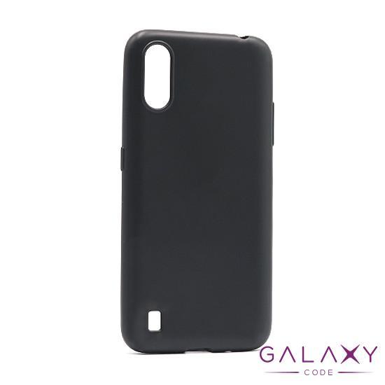 Futrola ULTRA TANKI KOLOR za Samsung A015F Galaxy A01 crna