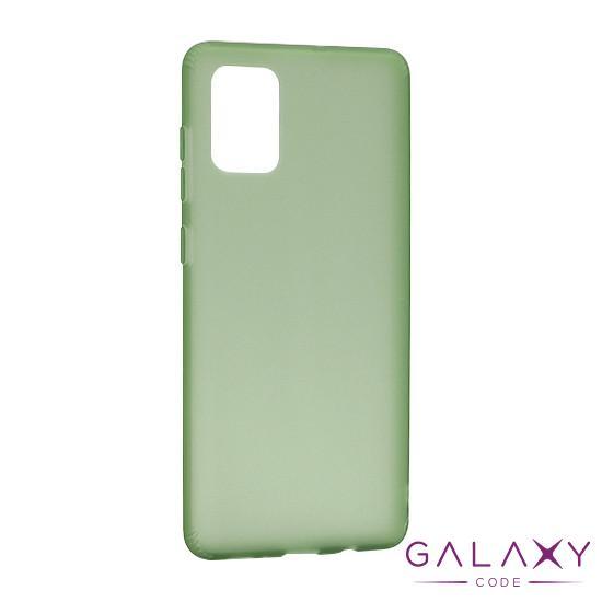 Futrola silikon RUBBER za Samsung A715F Galaxy A71 zelena