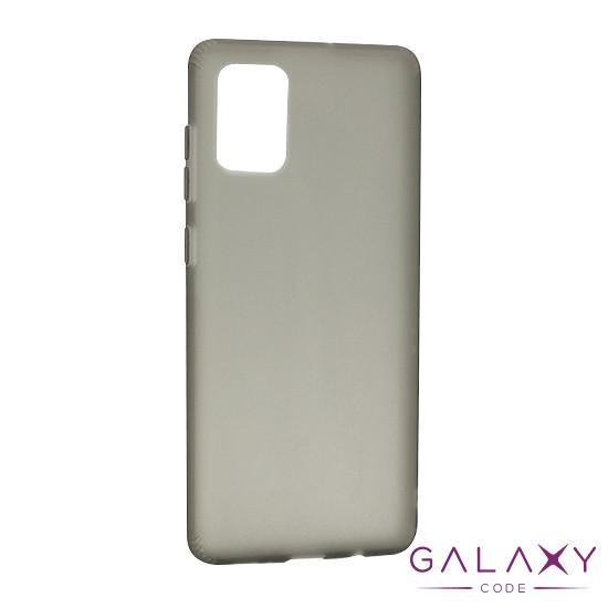 Futrola silikon RUBBER za Samsung A515F Galaxy A51 siva