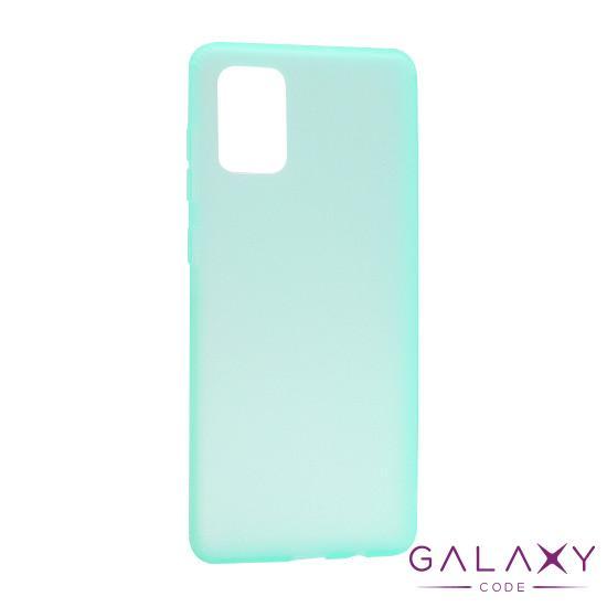 Futrola silikon RUBBER za Samsung A515F Galaxy A51 tirkizna
