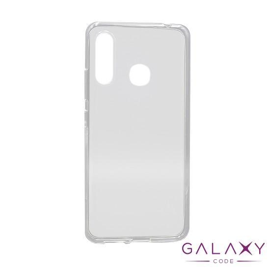 Futrola ULTRA TANKI PROTECT silikon za Samsung Galaxy A70e providna (bela)