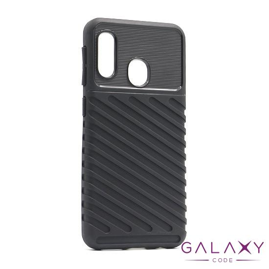 Futrola THUNDER za Samsung A202F Galaxy A20e crna