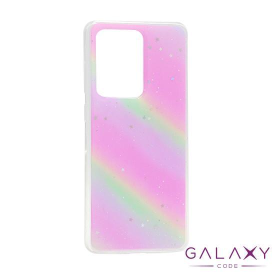 Futrola Sparkly star za Samsung G988F Galaxy S20 Ultra rainbow DZ01