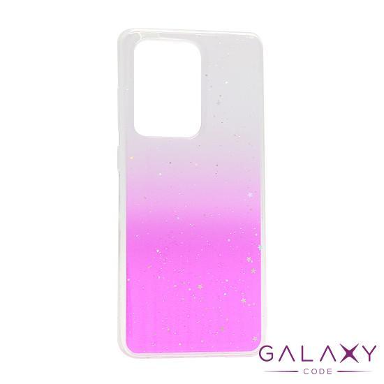 Futrola Sparkly star za Samsung G988F Galaxy S20 Ultra roze