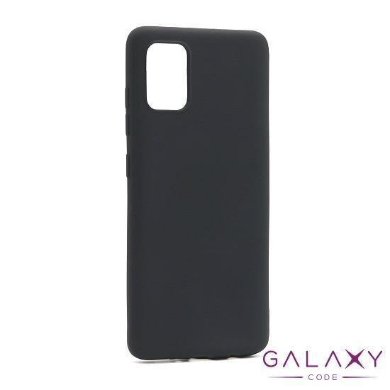 Futrola Smooth za Samsung A515F Galaxy A51 crna