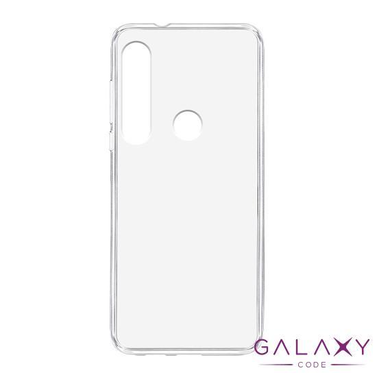 Futrola ULTRA TANKI PROTECT silikon za Motorola Moto G8 Plus providna (bela)