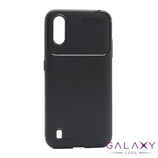 Futrola CARBON za Samsung A015F Galaxy A01 crna