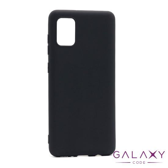 Futrola ULTRA TANKI KOLOR za Samsung A315F Galaxy A31 crna