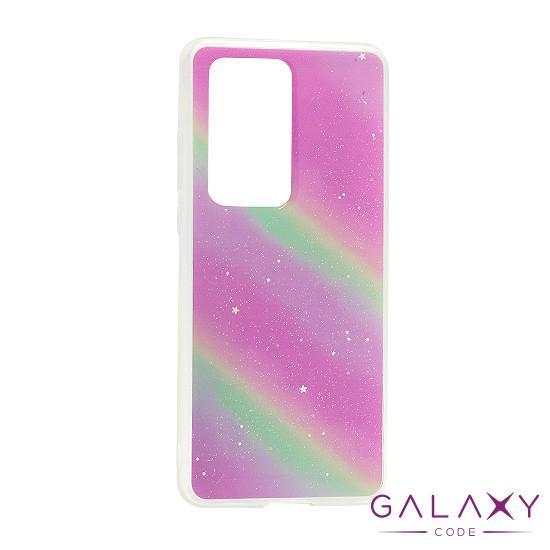 Futrola Sparkly star za Huawei P40 Pro rainbow DZ01