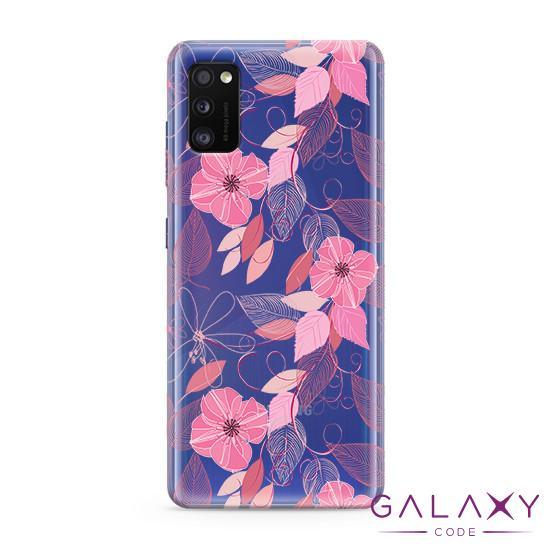 Futrola ULTRA TANKI PRINT CLEAR za Samsung A415F Galaxy A41 ND0094