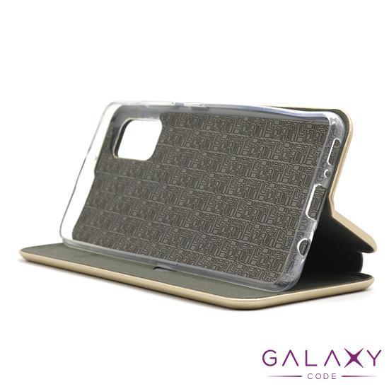 Futrola BI FOLD Ihave za Samsung A415F Galaxy A41 zlatna