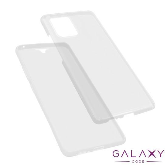 Futrola silikon 360 za Samsung A915F/G770F Galaxy A91/S10 Lite providna