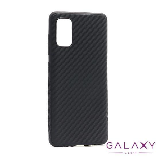 Futrola silikon CARBON LIGHT za Samsung A315F Galaxy A31 crna