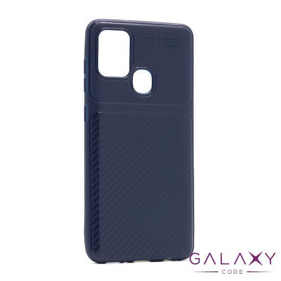 Futrola silikon ELEGANT CARBON za Samsung A217F Galaxy A21s teget